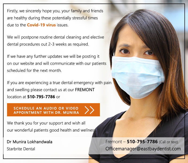 Starbrite Dental Fremont Emergency Teledentistry Appt